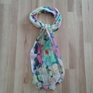H&M Psychedelic Floral Print Headscarf Headwrap